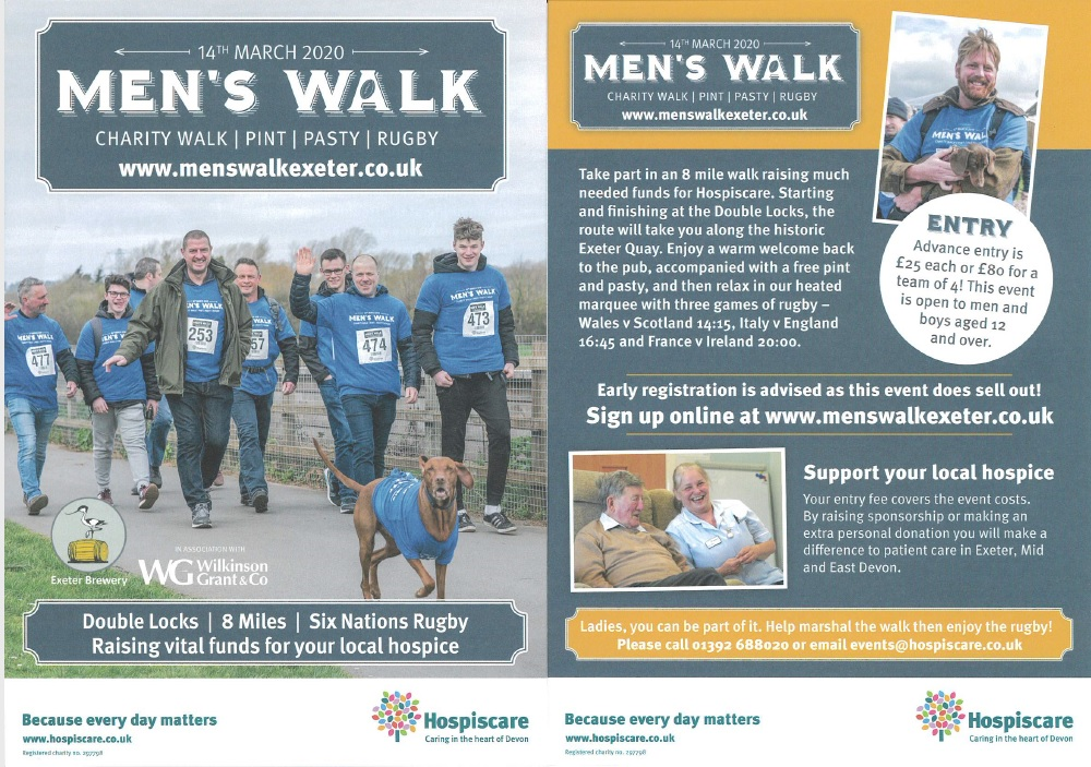 Hospiscare Men's Walk