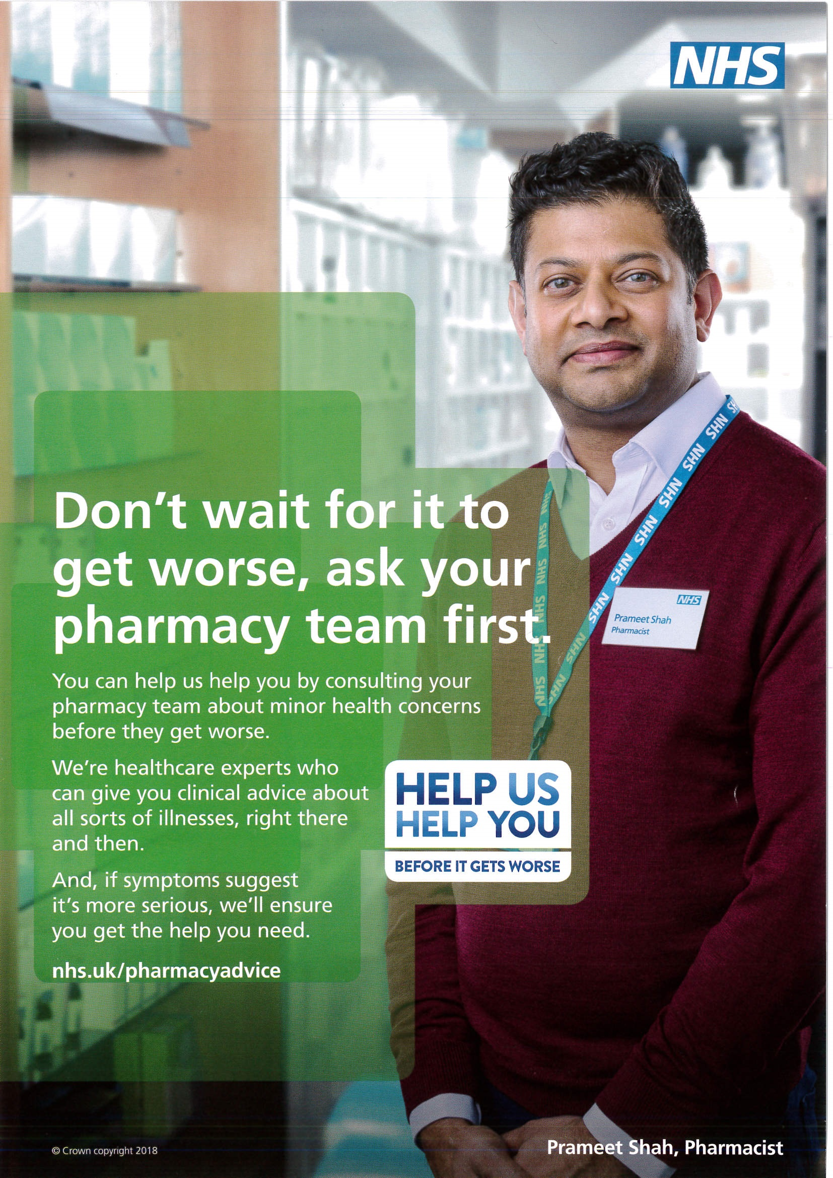 Pharmacy Team Poster